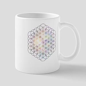 Flower of Life [Blue Star Cluster] Mugs
